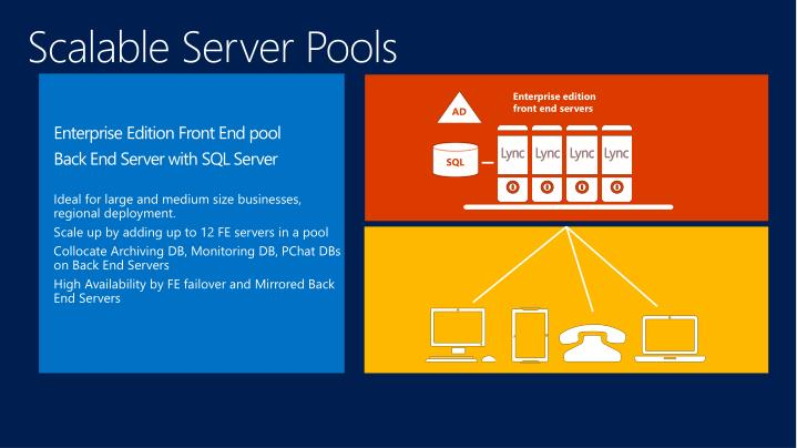 Scalable Server Pools