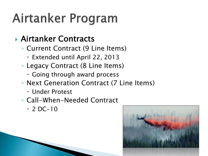 Airtanker Program