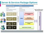 server services package options