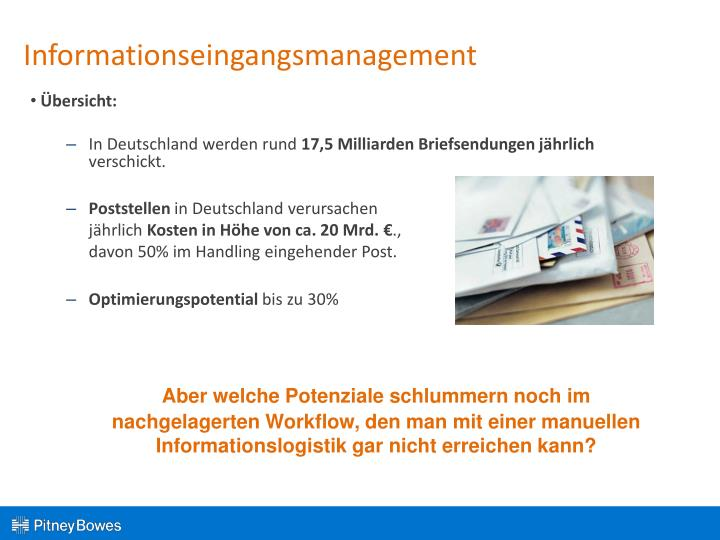 Informationseingangsmanagement