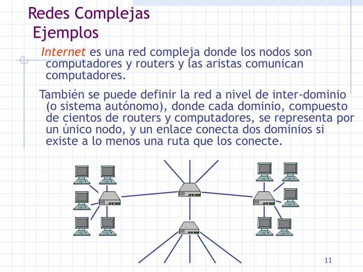 Redes Complejas