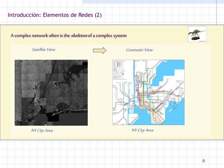 Introducción: Elementos de Redes (2)