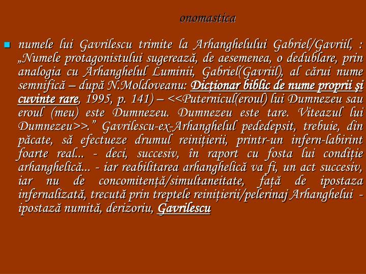 onomastica