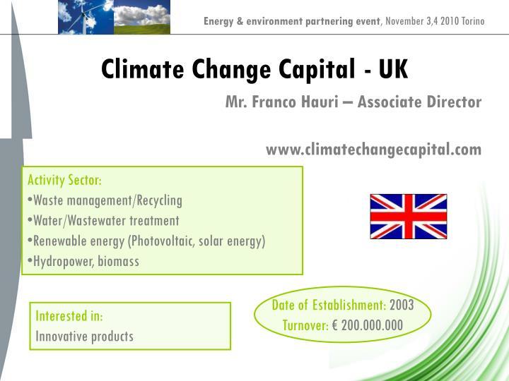 Climate Change Capital