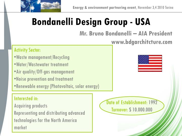 Bondanelli Design Group