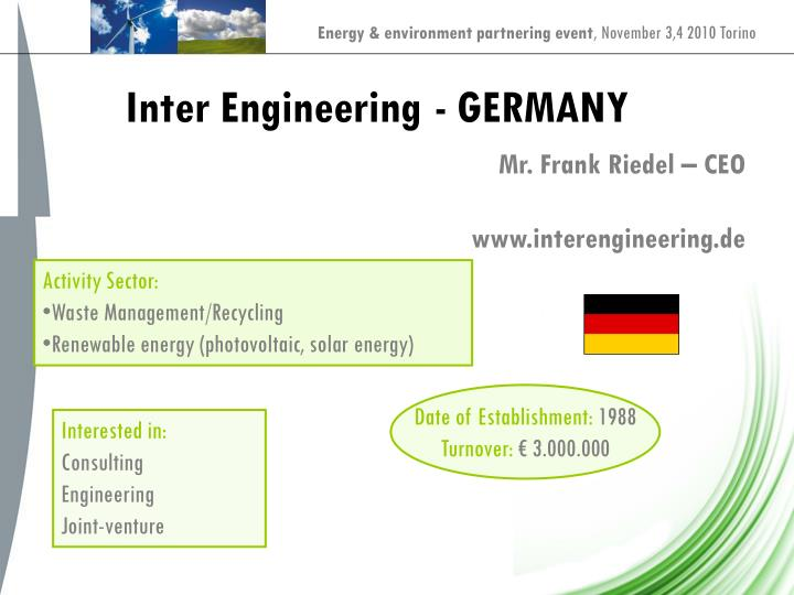 Inter Engineering