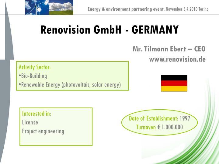 Renovision GmbH