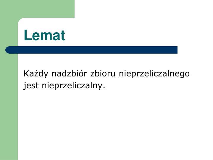 Lemat