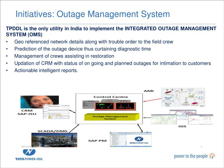 Initiatives: Outage Management System