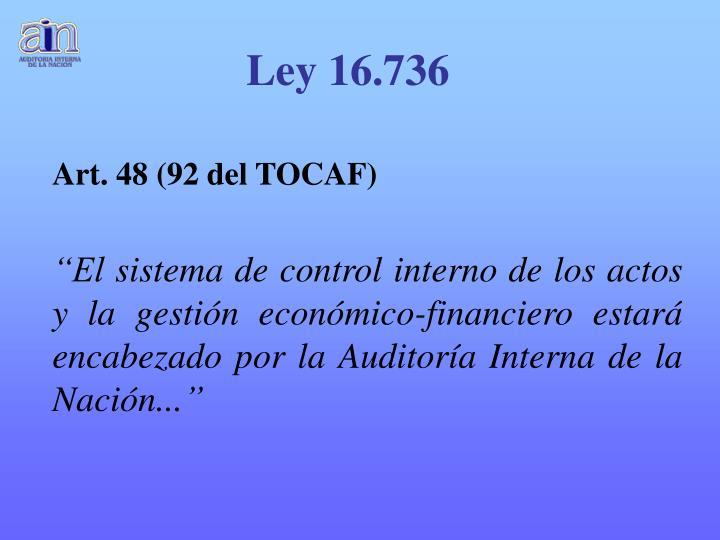 Ley 16.736