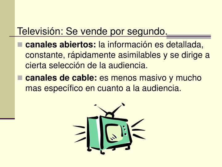 Televisión: