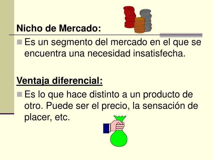 Nicho de Mercado: