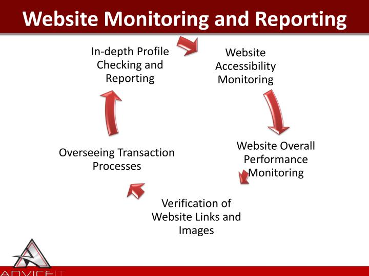 Website Monitoring and Reporting