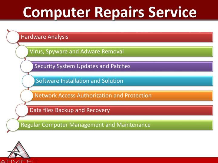 Computer Repairs Service