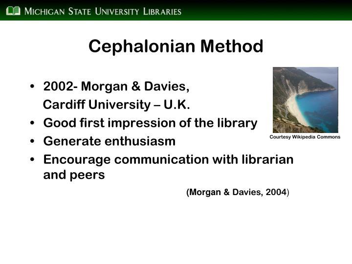 Cephalonian Method