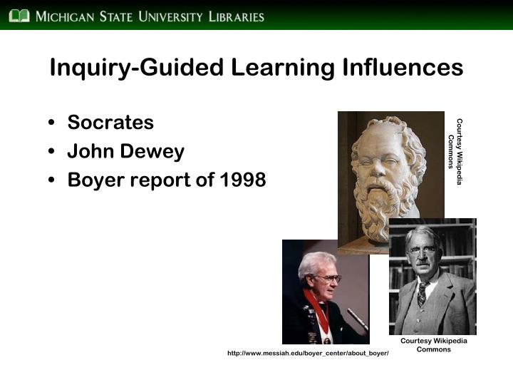 Inquiry-Guided Learning Influences
