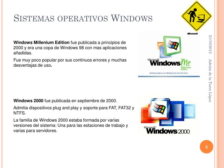 Sistemas operativos Windows