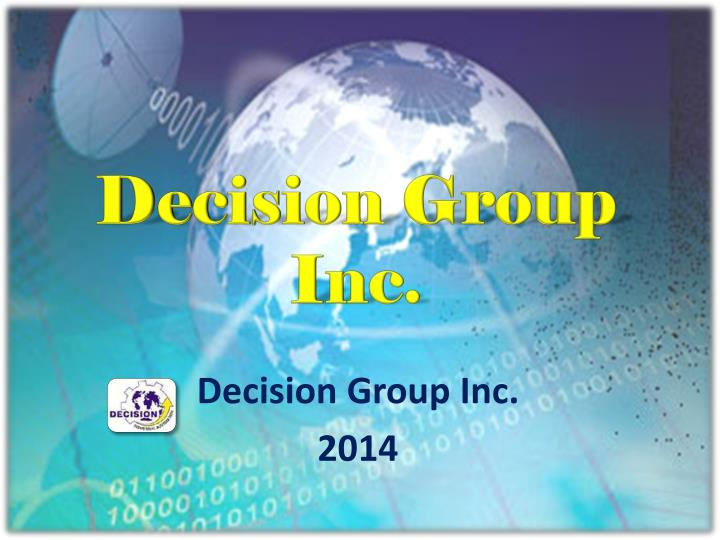 Decision group inc