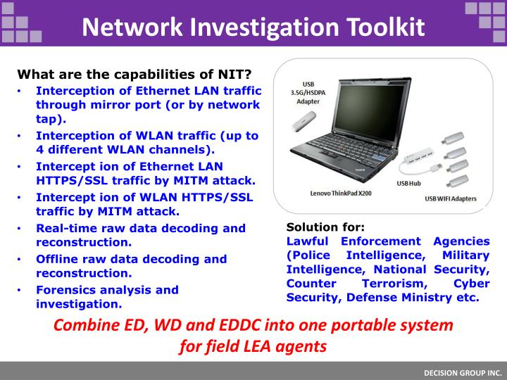 Network Investigation Toolkit