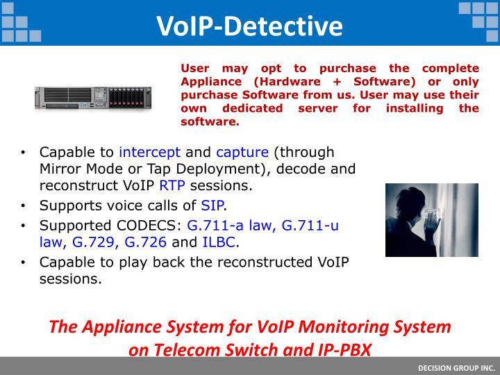 VoIP-Detective