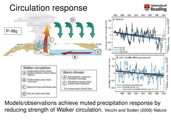 Circulation response