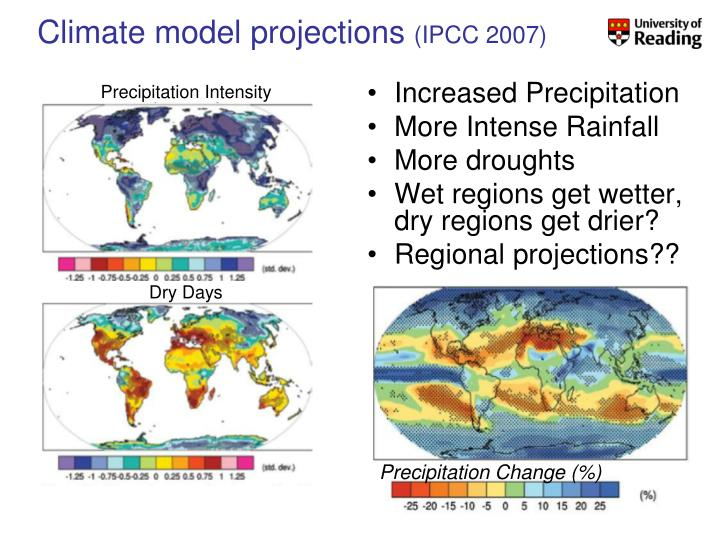 Climate model projections