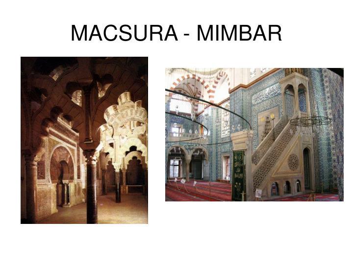 MACSURA - MIMBAR