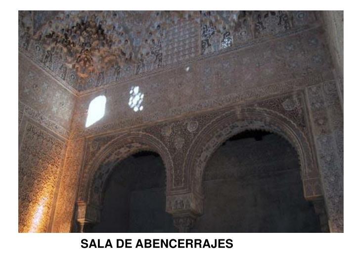 SALA DE ABENCERRAJES