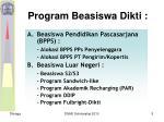program beasiswa dikti