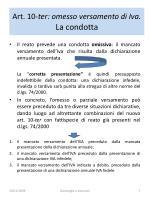 art 10 ter omesso versamento di iva la condotta