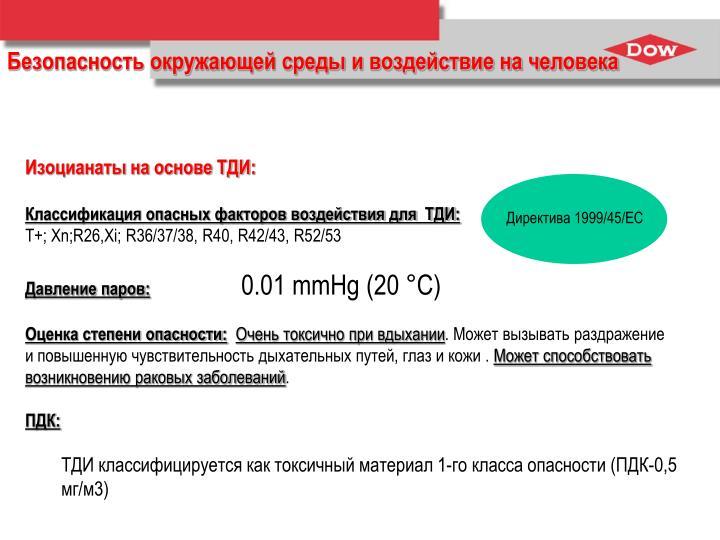 Директива 1999/45/EC