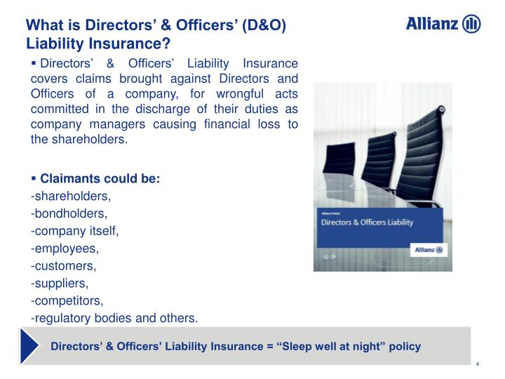 What is Directors' & Officers' (D&O)