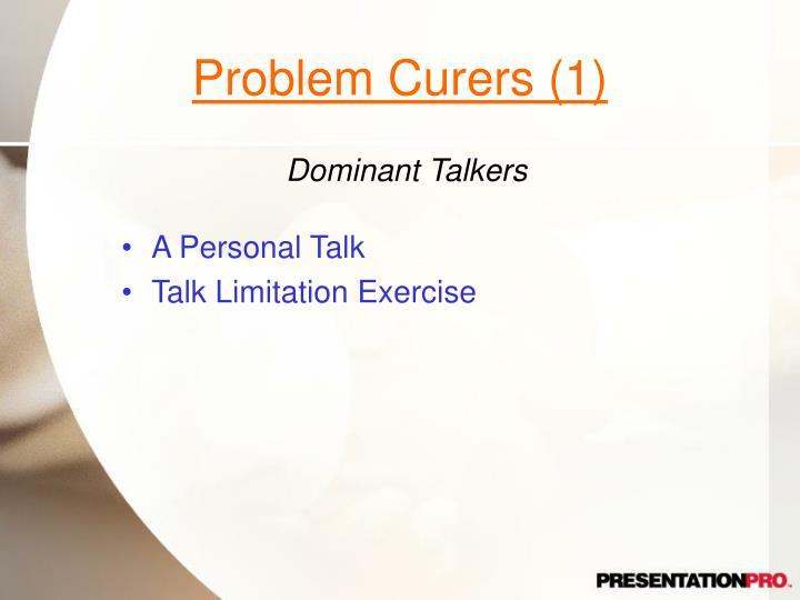 Problem Curers (1)