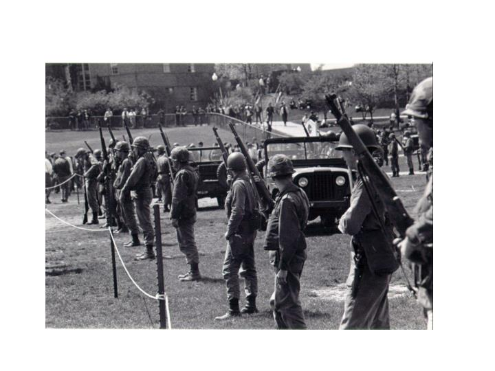 Kent State, May 4, 1970 - National Guard