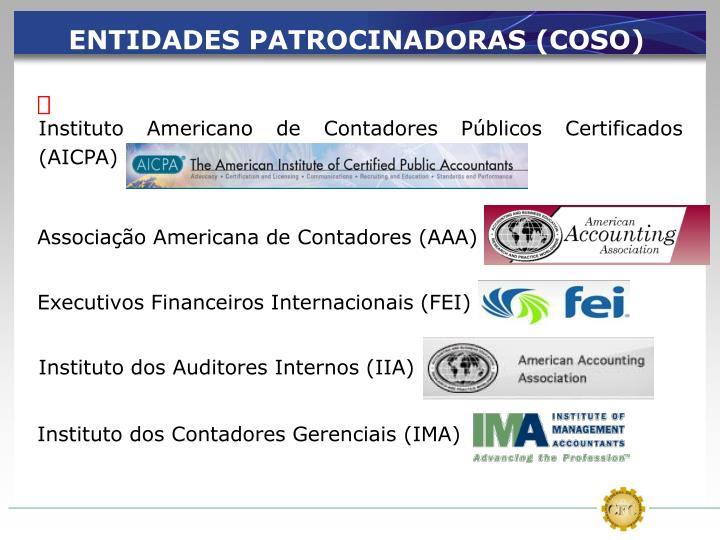 Instituto Americano de Contadores Públicos Certificados (AICPA)