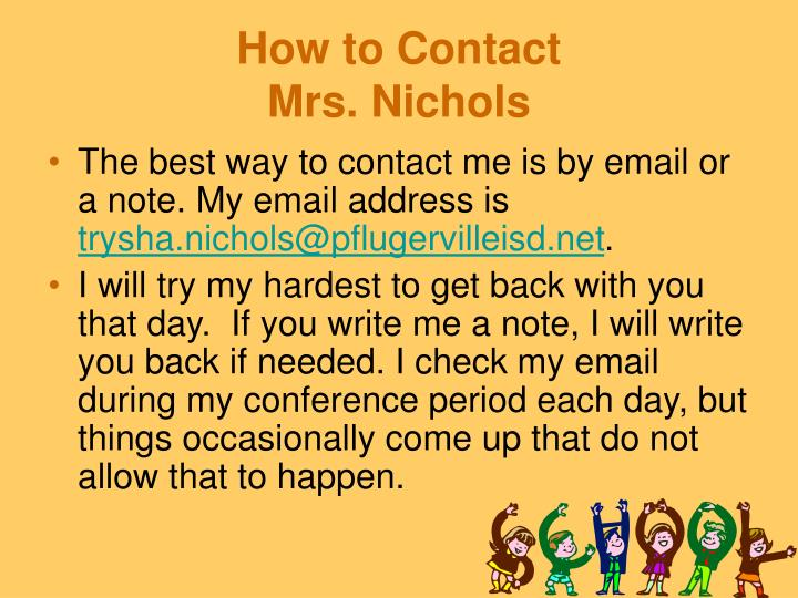 How to Contact
