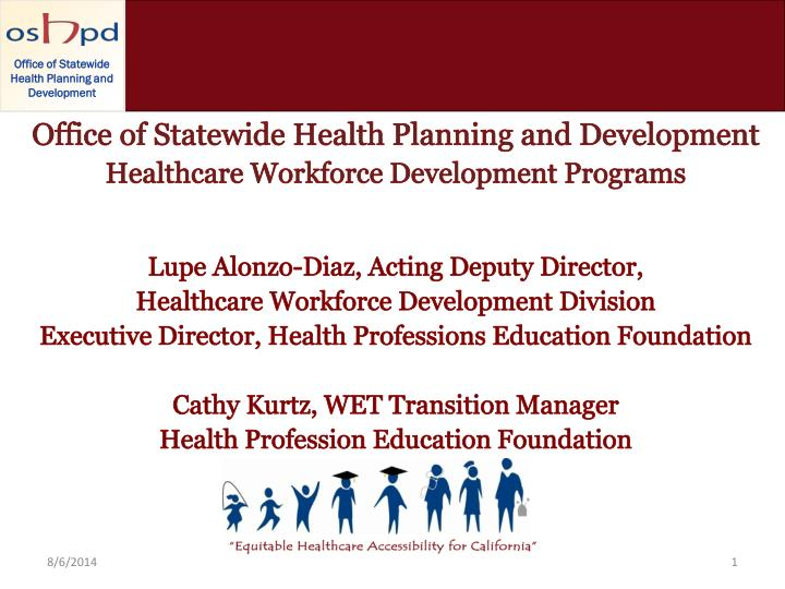 Office of Statewide Health Planning and Development
