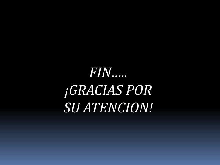 FIN…..