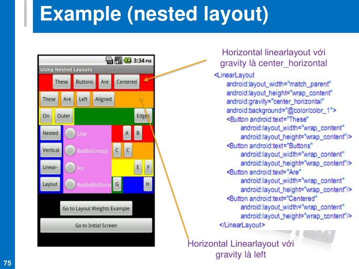 Example (nested layout)