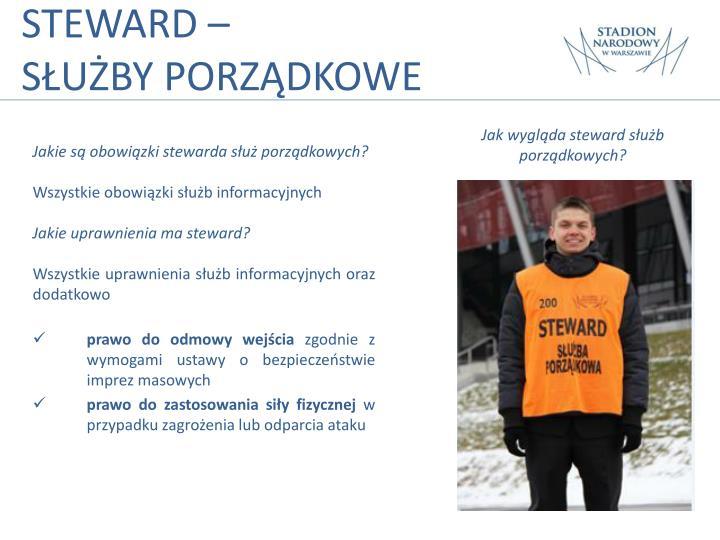 STEWARD –