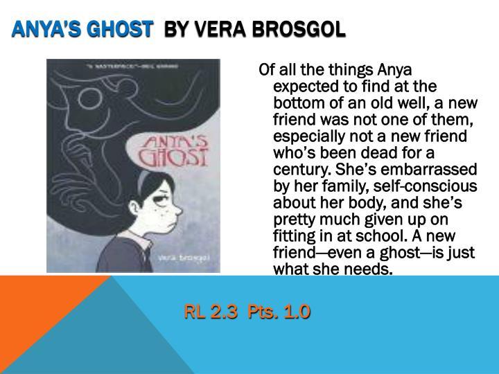 Anya's Ghost