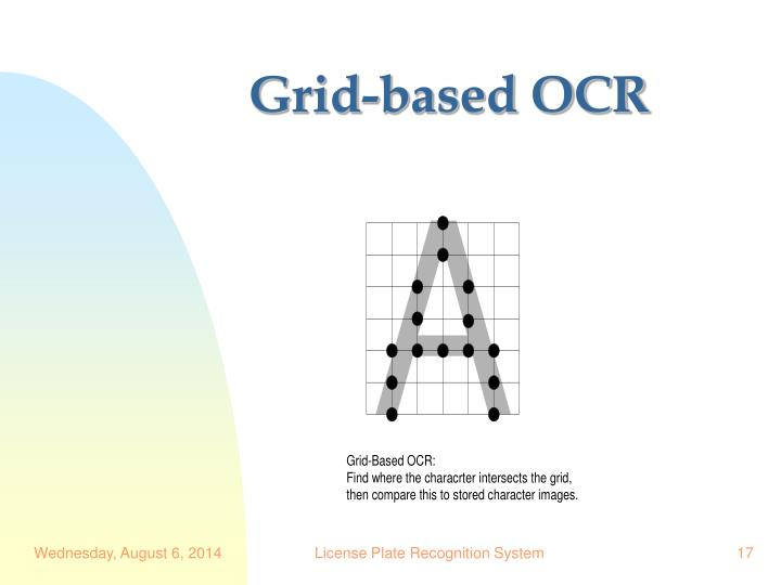 Grid-based OCR