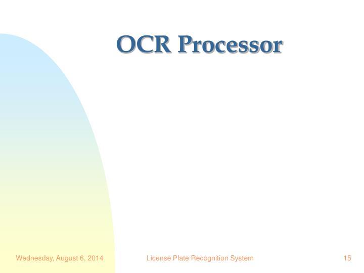 OCR Processor