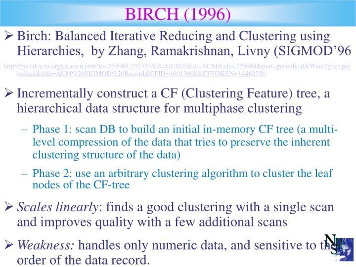 BIRCH (1996)
