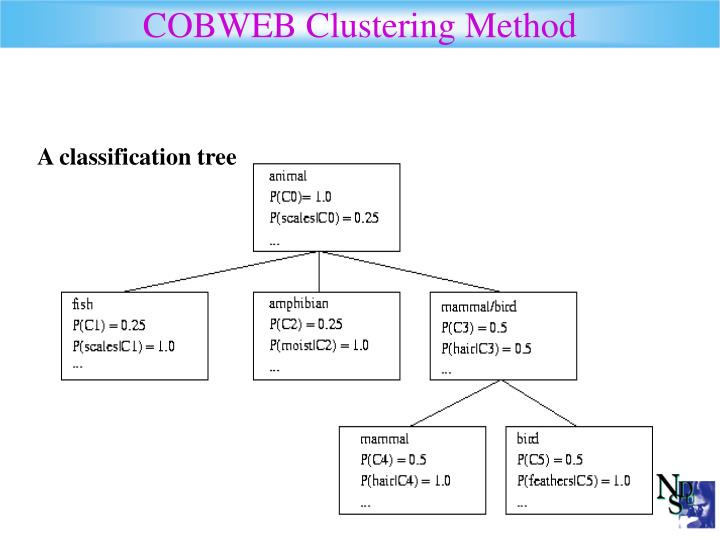 COBWEB Clustering Method