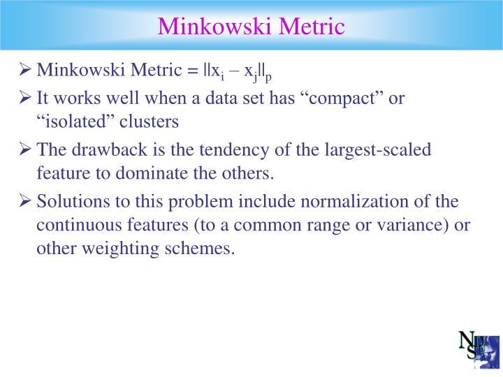 Minkowski Metric