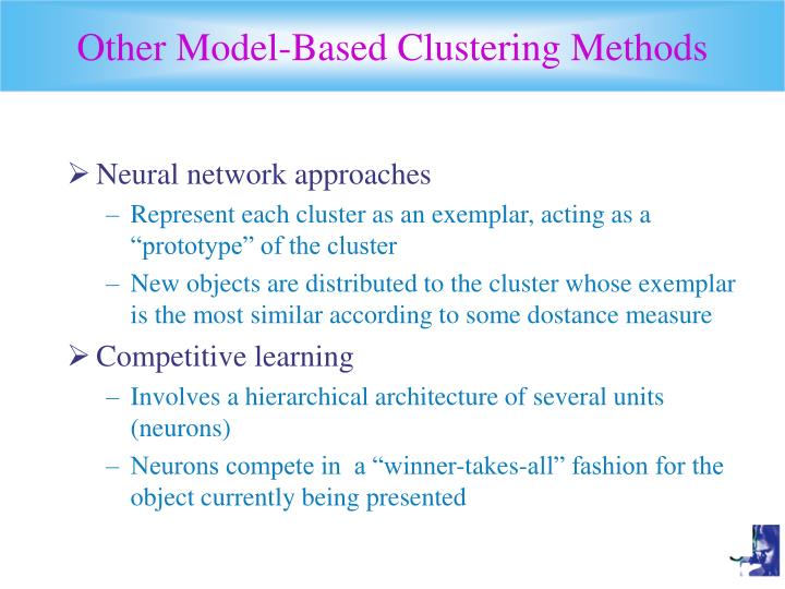 Other Model-Based Clustering Methods