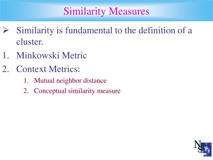 Similarity Measures