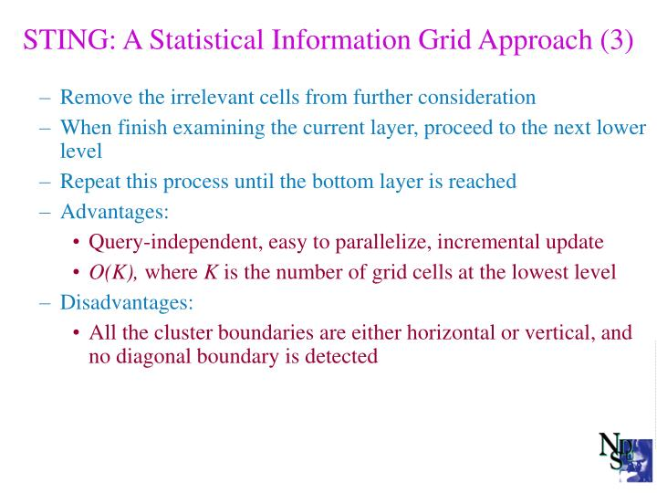 STING: A Statistical Information Grid Approach (3)