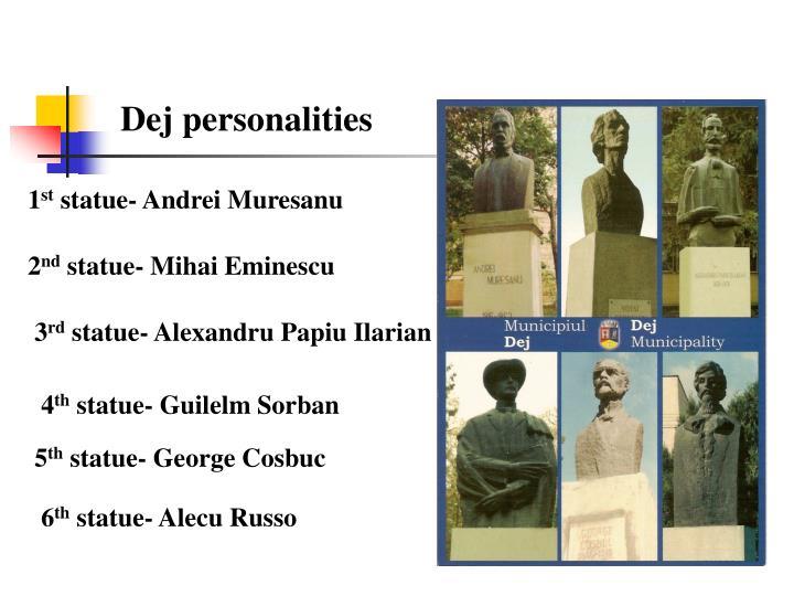 Dej personalities